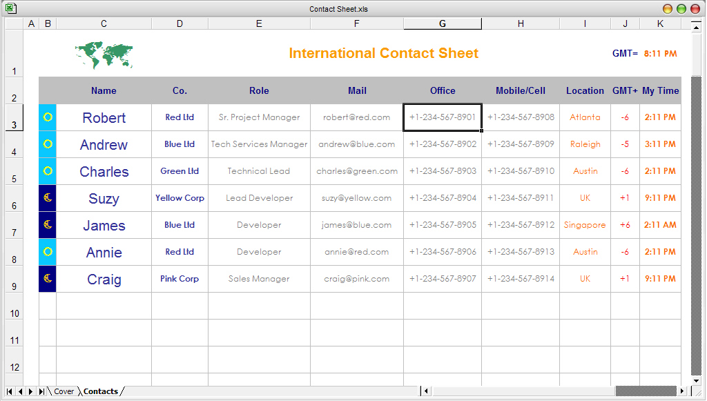 contacts spreadsheet template - free ready to use excel spreadsheet templates downloads